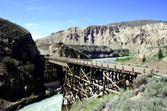 река моста Стоковое фото RF