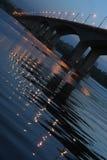 река моста Стоковые Изображения