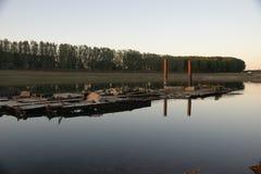 Река Молдова Dnistro Стоковые Фото