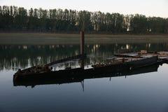 Река Молдова Dnistro Стоковая Фотография RF