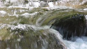 Река над Petrich - вначале Luda Mara короткое видео воды от реки акции видеоматериалы
