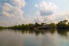 Река на острове Phu Quoc, Вьетнама стоковые фотографии rf