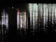 Река на полночи Стоковые Фотографии RF
