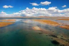 Река на плато Стоковое фото RF