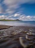 Река на пляже Стоковые Изображения RF