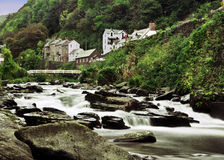 Река на Lynton Стоковое Изображение
