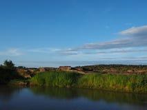 Река неба каменное Стоковые Изображения