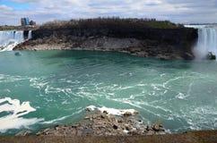 Река Ниагара Стоковое Изображение