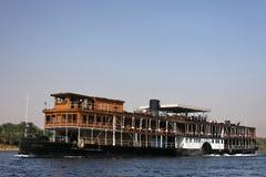 река Нила круиза традиционное Стоковое Изображение RF