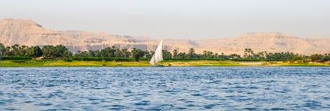 река Нила Стоковое Изображение