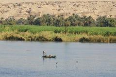 Река Нила Стоковая Фотография