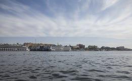 Река Нил стоковое изображение