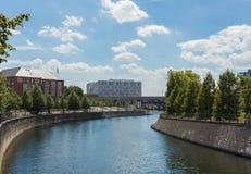 Река оживления в Берлине Стоковые Фотографии RF
