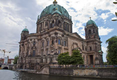 Река оживления в Берлине, Германии Стоковые Фото