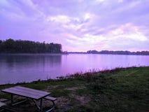 Река Онтарио мистическое стоковое фото