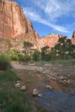 река осени малое Стоковая Фотография