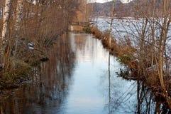 река осени последнее Стоковое фото RF