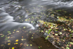 Река осени Стоковая Фотография