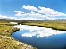 река отражения Стоковая Фотография RF
