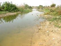 Река 2 отступать Стоковое фото RF