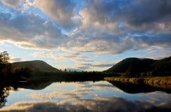 Река пакета, упование, Айдахо Стоковая Фотография