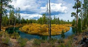 река панорамы загиба стоковые изображения