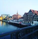 Река Польши стоковая фотография