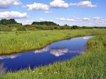 река поля малое Стоковая Фотография RF