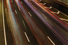 Река радуги движения Стоковая Фотография