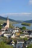 Река Рейн с Lorch Стоковые Изображения