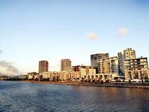 Река @ Родос Parramatta, Сидней Австралия Стоковое фото RF