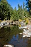 Река румян, Орегон стоковые изображения