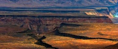 река рыб каньона Стоковые Фотографии RF
