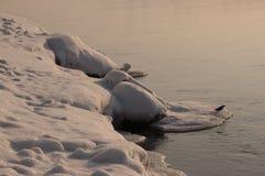 река свободного полета angara Стоковые Фотографии RF