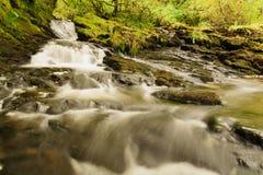 Река северное Уэльс Ceunant Tyn y Ddol стоковое изображение rf