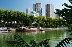 Река Сена. Стоковое Фото