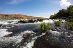 Река Сенегал около Kayes в Мали Стоковое Изображение RF