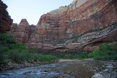 Река Сион девственницы Стоковая Фотография