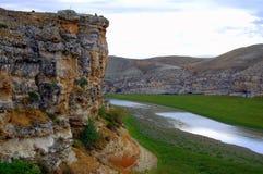 река скалы Стоковые Изображения