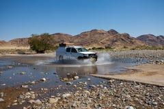 река скрещивания автомобиля Стоковые Фото