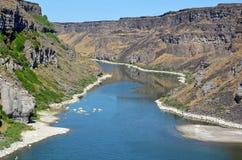 Река Снейк в Айдахо Стоковое Изображение