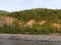Река Сочи стоковая фотография