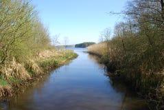 река спокойное Стоковые Фотографии RF