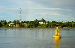 Река спокойствия в Вьетнаме стоковые изображения rf