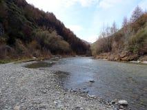 Река стрелки, лорд колец Форда Bruinen, Новой Зеландии Стоковые Изображения