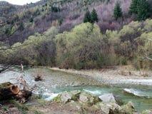 Река стрелки, Arrowtown, лорд положения колец Стоковые Фотографии RF
