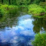 река сценарное Стоковые Изображения RF
