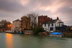 Река Темза в Оксфорде Стоковое фото RF