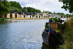 Река Темза в Оксфорде Стоковая Фотография