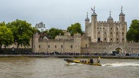 Река Темза, Лондон стоковое изображение
